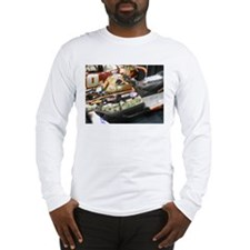 Money Designed Snowmobile Long Sleeve T-Shirt