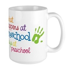 Stays At Preschool Mug