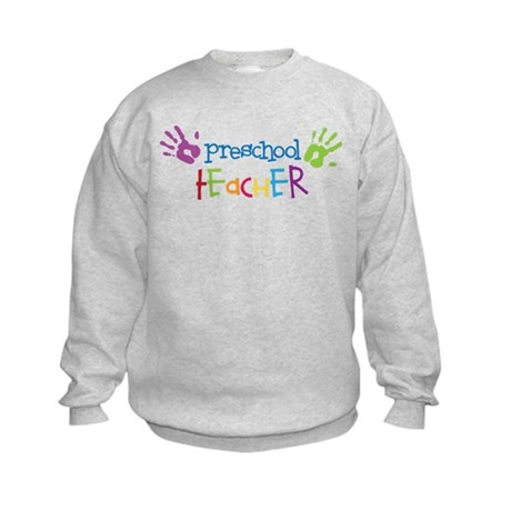 Preschool Teacher Kids Sweatshirt