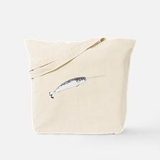 Narwhal whale bbg Tote Bag