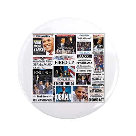"Obama Inauguration 3.5"" Button (100 pack)"