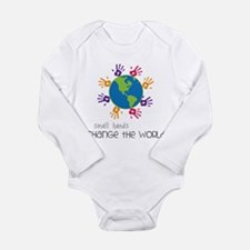 Small Hands Long Sleeve Infant Bodysuit