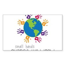 Small Hands Decal