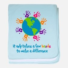 Make A Difference baby blanket