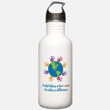 Make A Difference Water Bottle