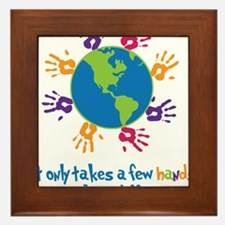 Make A Difference Framed Tile