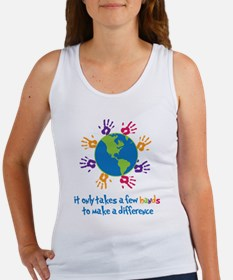Make A Difference Women's Tank Top