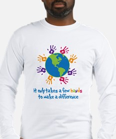 Make A Difference Long Sleeve T-Shirt