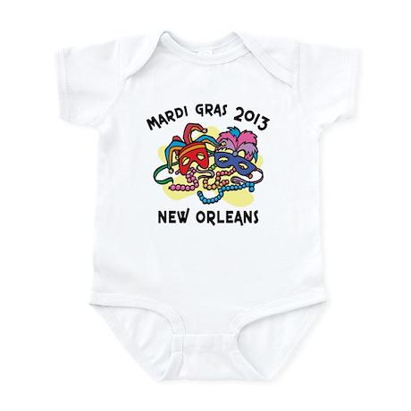 Mardi Gras 2013 Infant Bodysuit