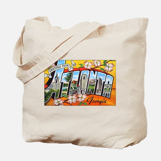 Atlanta Georgia Greetings Tote Bag