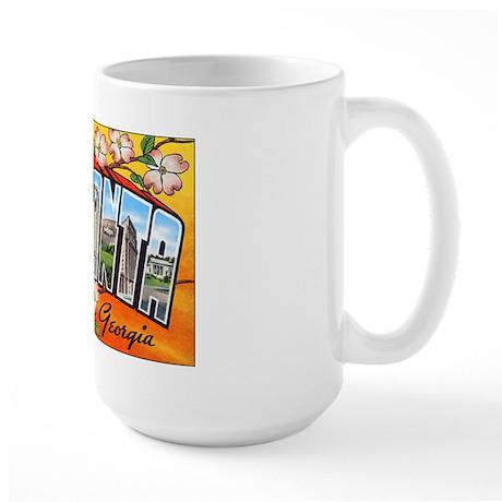 Atlanta Georgia Greetings Large Mug