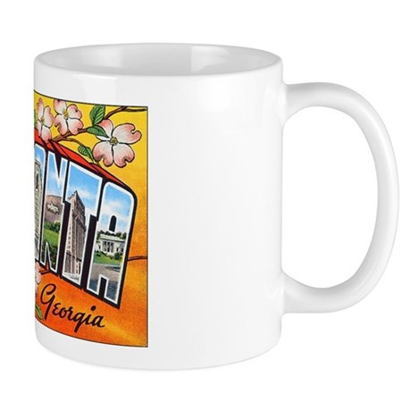 Atlanta Georgia Greetings Mug