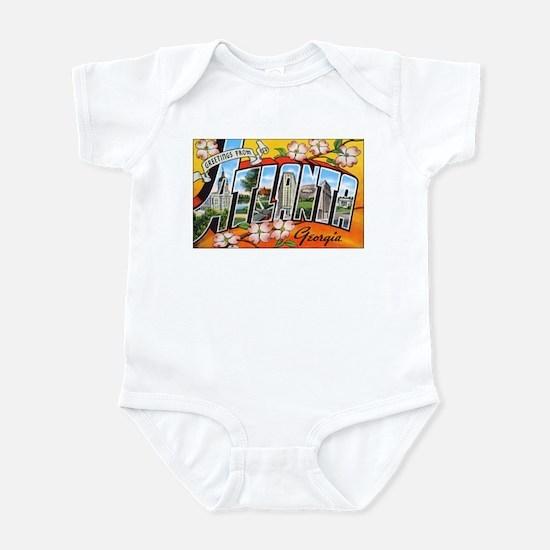 Atlanta Georgia Greetings Infant Bodysuit