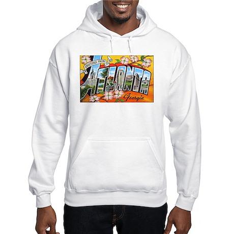 Atlanta Georgia Greetings Hooded Sweatshirt