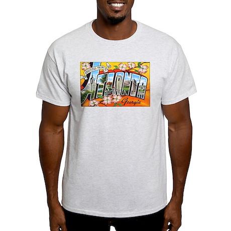 Atlanta Georgia Greetings Ash Grey T-Shirt