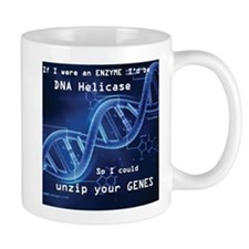 DNA unzip you genes Mug