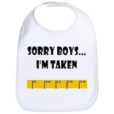 Ruler Sorry Boys Bib