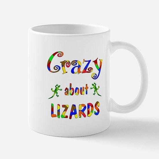 Crazy About Lizards Mug
