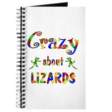 Crazy About Lizards Journal
