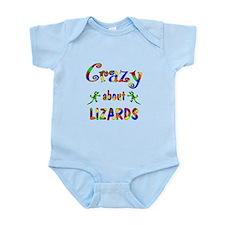 Crazy About Lizards Infant Bodysuit