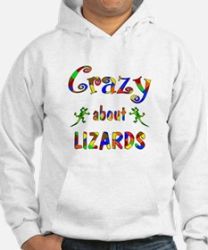 Crazy About Lizards Hoodie