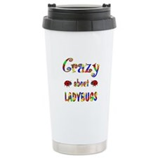 Crazy About Ladybugs Travel Mug