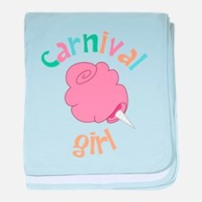 Carnival Girl baby blanket