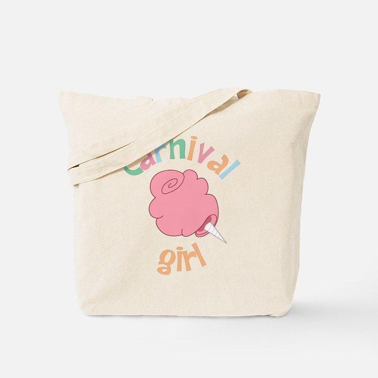 Carnival Girl Tote Bag