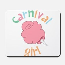 Carnival Girl Mousepad