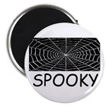 SPOOKY SPIDER WEB Magnet