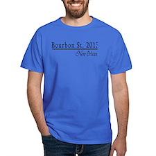 Mardi Gras 2012 Bourbon Street T-Shirt