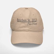 Mardi Gras 2012 Bourbon Street Baseball Baseball Cap