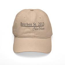 Mardi Gras 2012 Bourbon Street Baseball Cap