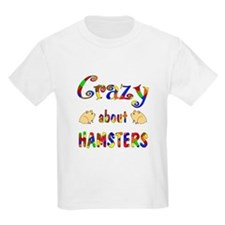 Crazy About Hamsters T-Shirt