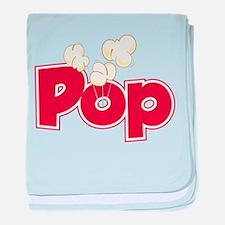 Pop baby blanket