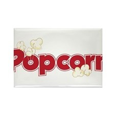 Popcorn Rectangle Magnet