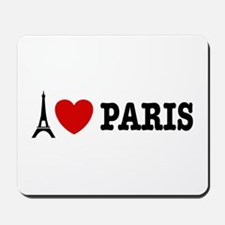 I Love Paris Mousepad