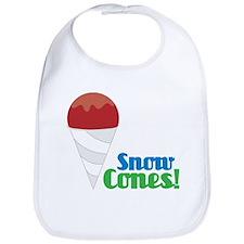 Snow Cones Bib