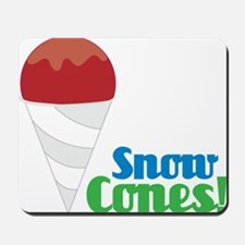 Snow Cones Mousepad
