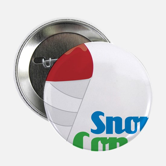"Snow Cones 2.25"" Button"