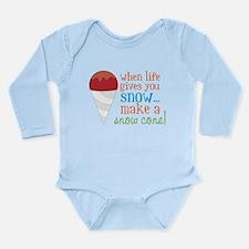 Make A Snow Cone Onesie Romper Suit