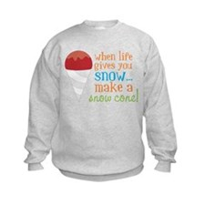 Make A Snow Cone Sweatshirt