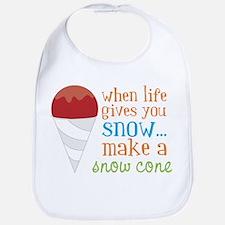 Make A Snow Cone Bib