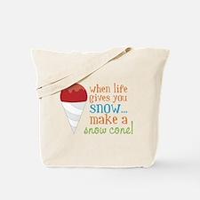 Make A Snow Cone Tote Bag