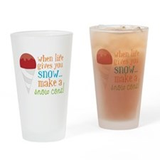 Make A Snow Cone Drinking Glass