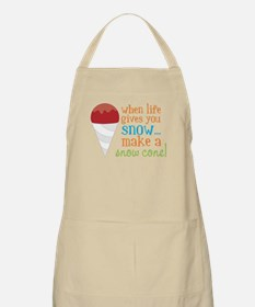 Make A Snow Cone Apron