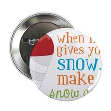 "Make A Snow Cone 2.25"" Button"