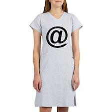 At Symbol @ Women's Nightshirt