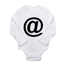 At Symbol @ Long Sleeve Infant Bodysuit