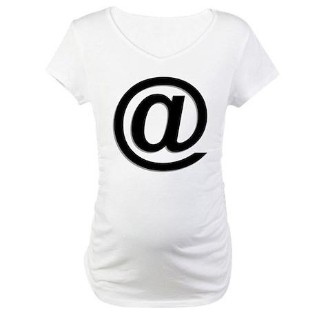 At Symbol @ Maternity T-Shirt